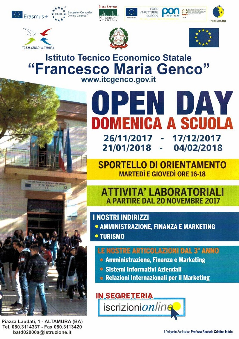 Locandina Open Day page 001